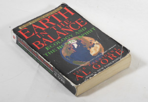 My tattered copy of Earth In The Balance