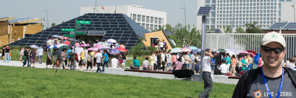 Mike at Solar Decathlon China